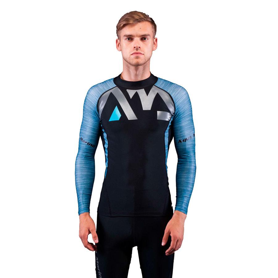 Pánské lycrové tričko Division, Aqua Marina - velikost S
