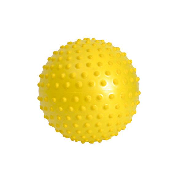 Overball - Míč SENSYBALL s výstupky žlutý 20 cm