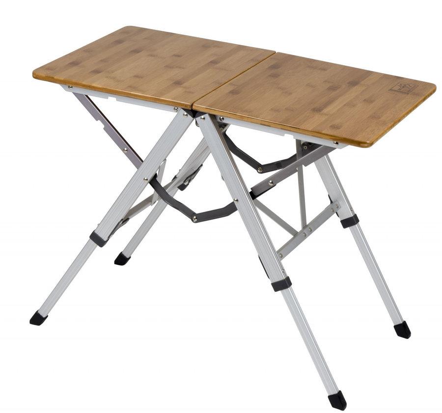 Rozkládací kempingový stůl Bo-Camp - délka 70 cm, šířka 40 cm a výška 55 cm