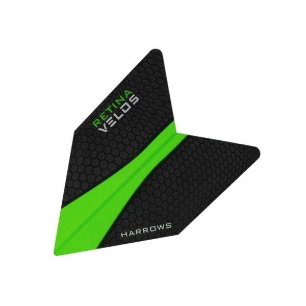 Letky - Šipkové letky Harrows Velos Green 1008 3ks