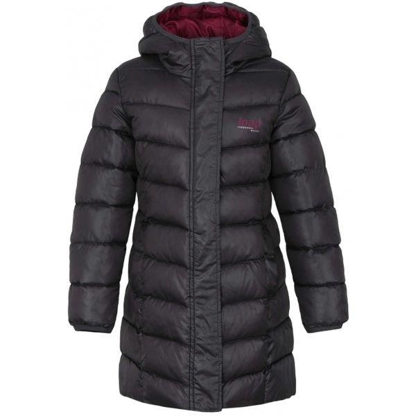 Šedý dívčí kabát Loap