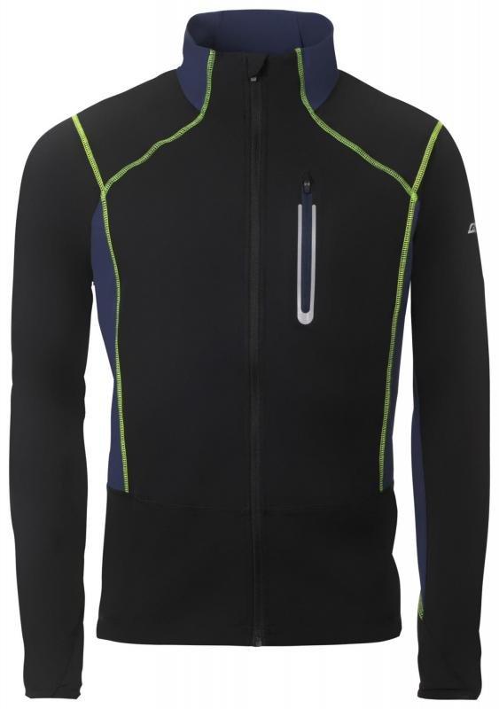Černá softshellová pánská bunda Alpine Pro - velikost XS