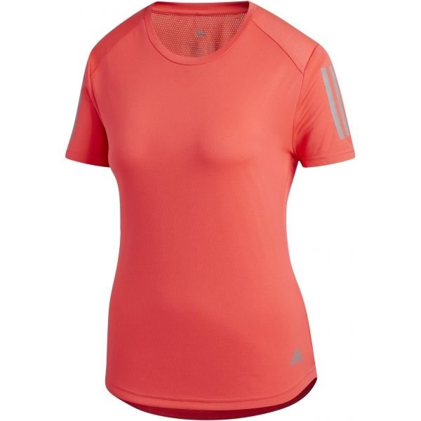 Červené dámské běžecké tričko Adidas