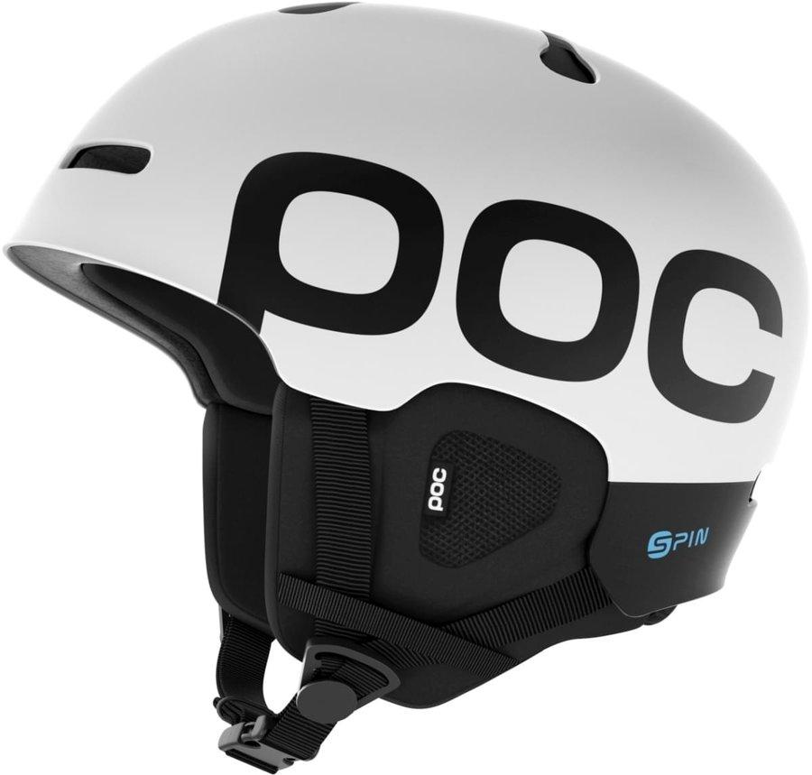 Bílá dámská helma na snowboard POC