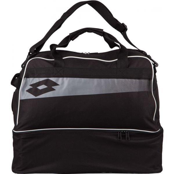 Černá sportovní taška Lotto - objem 56 l