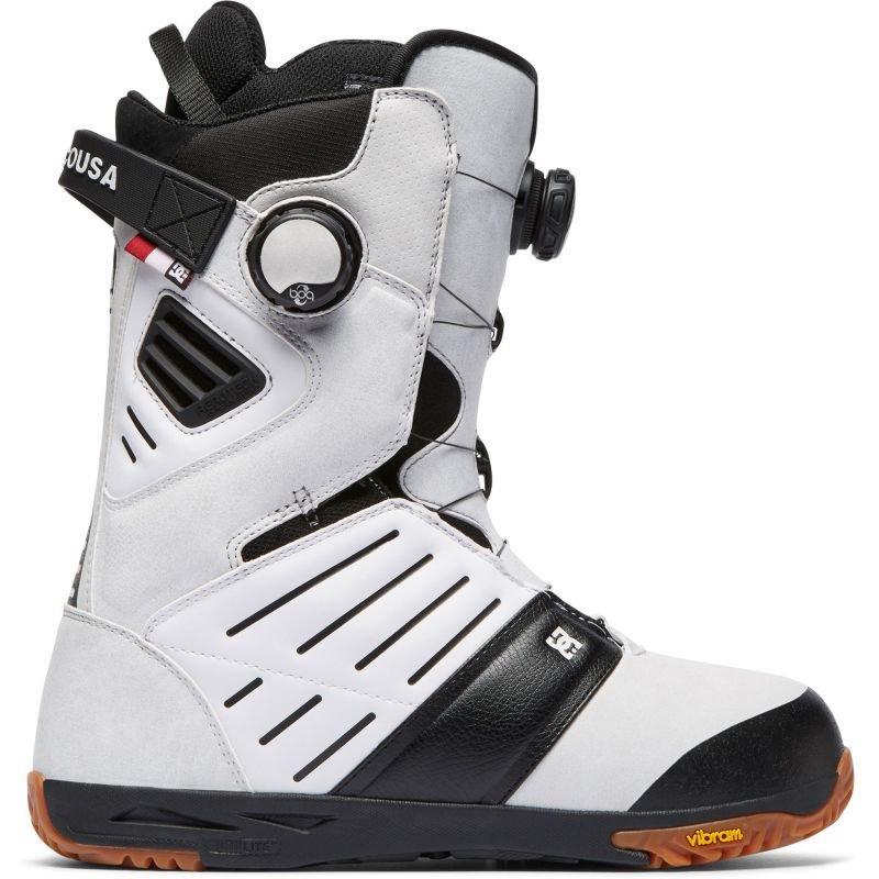 Bílé pánské boty na snowboard DC - velikost 42,5 EU
