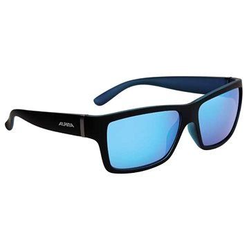 Černo-modré cyklistické brýle Alpina