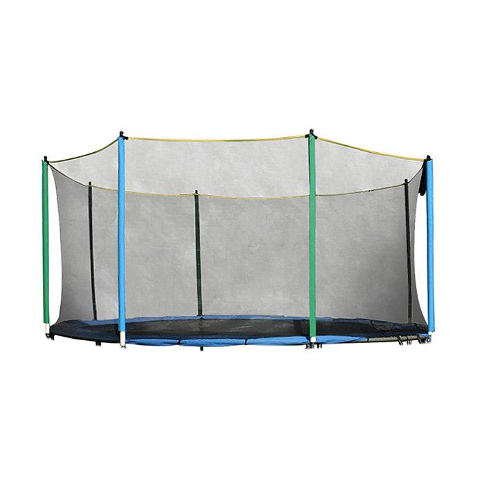 Ochranná síť na trampolínu inSPORTline - průměr 430 cm