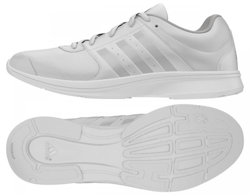 Bílé dámské fitness boty Adidas - velikost 38,5 EU