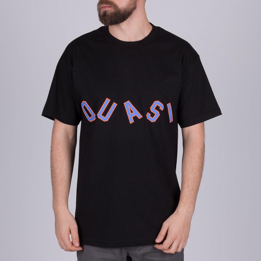 Černé pánské tričko s krátkým rukávem Quasi - velikost M