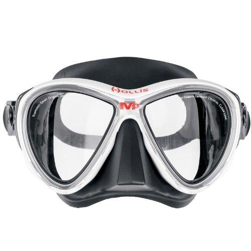Bílá potápěčská maska Hollis
