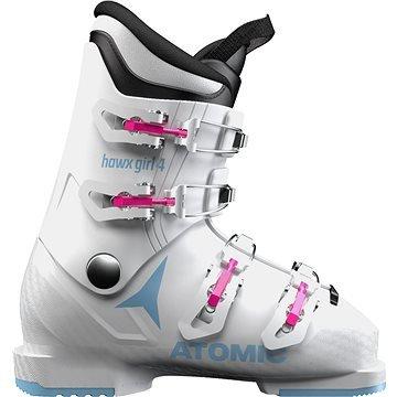 Bílé dětské lyžařské boty Atomic - velikost vnitřní stélky 26 cm