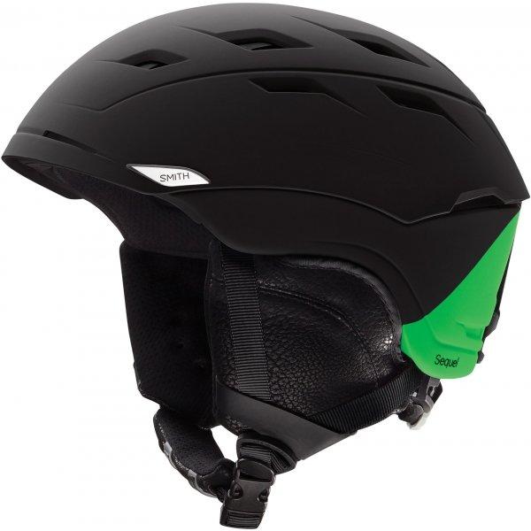 Černá lyžařská helma Smith