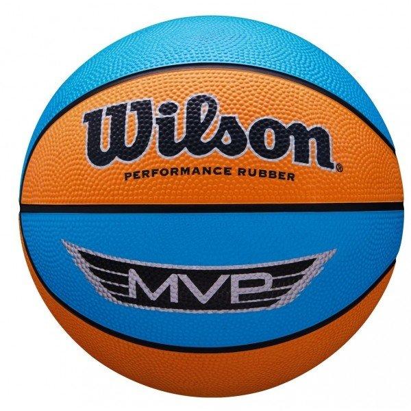 Modro-oranžový basketbalový míč Wilson