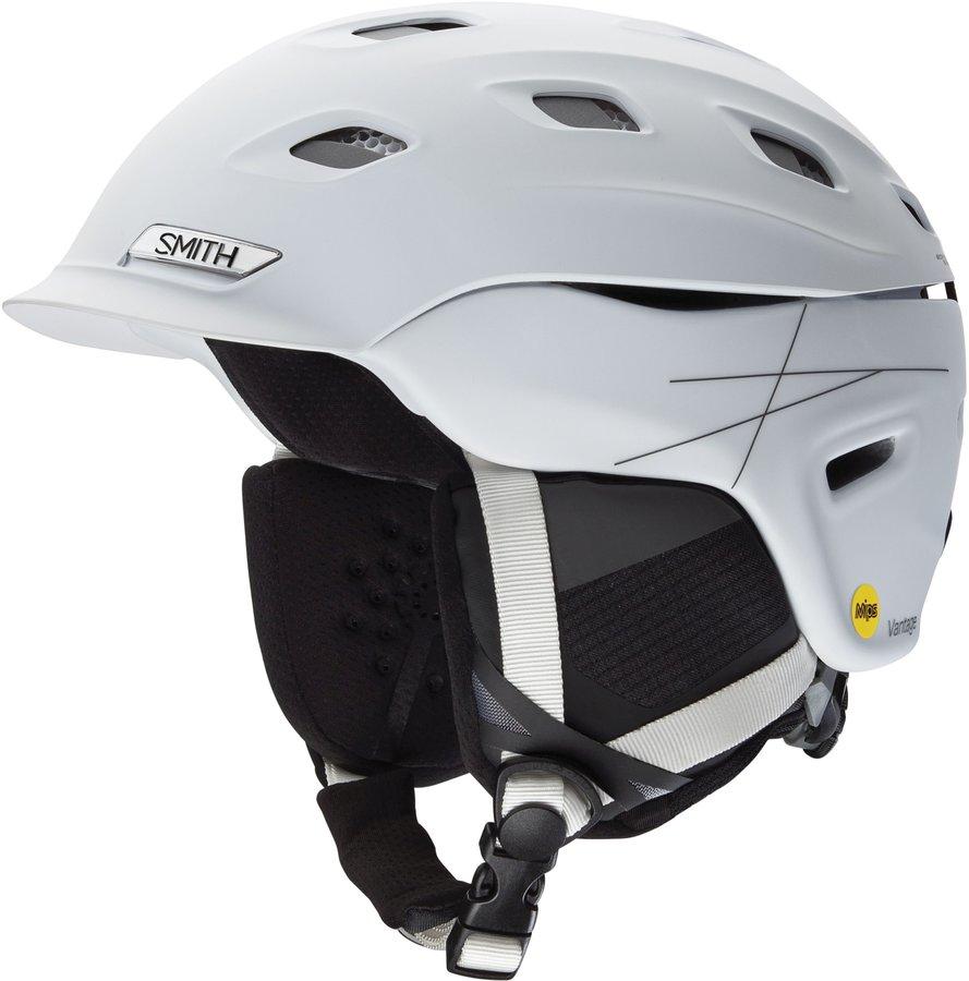 Bílá pánská helma na snowboard Smith - velikost 59-63 cm