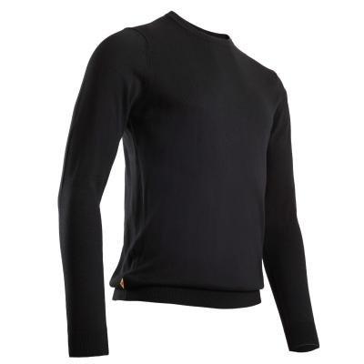 Černý pánský golfový svetr Inesis