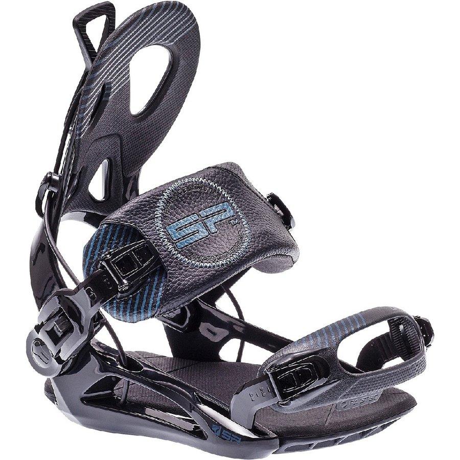 Černé vázání na snowboard SP - velikost L