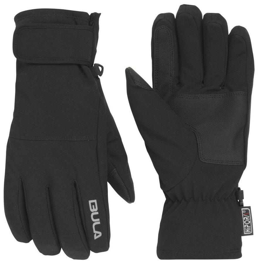 Černé zimní dámské běžecké rukavice Bula - velikost M
