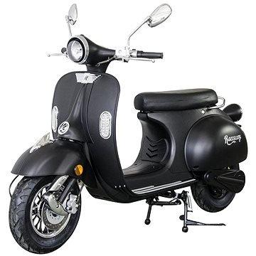 Černá elektrická motorka Century, Racceway