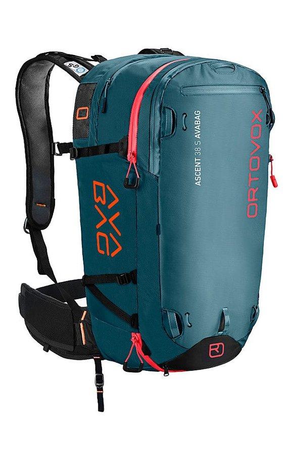 Modrý lavinový skialpový batoh Ortovox - objem 38 l