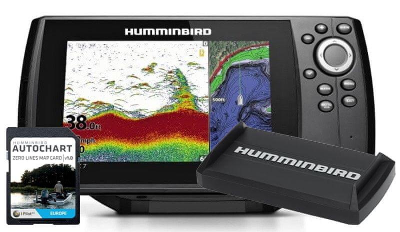 Echolot - Humminbird Echolot Humminbird Helix 7X CHIRP GPS G3