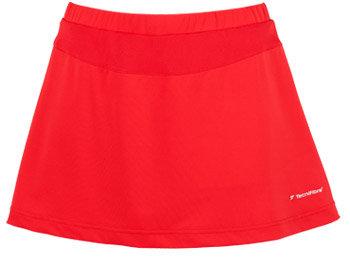 Červená dámská tenisová sukně Tecnifibre - velikost M