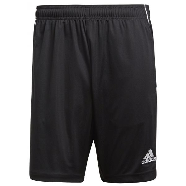 Černé pánské fotbalové kraťasy Adidas