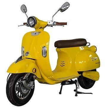 Žlutá elektrická motorka Century, Racceway