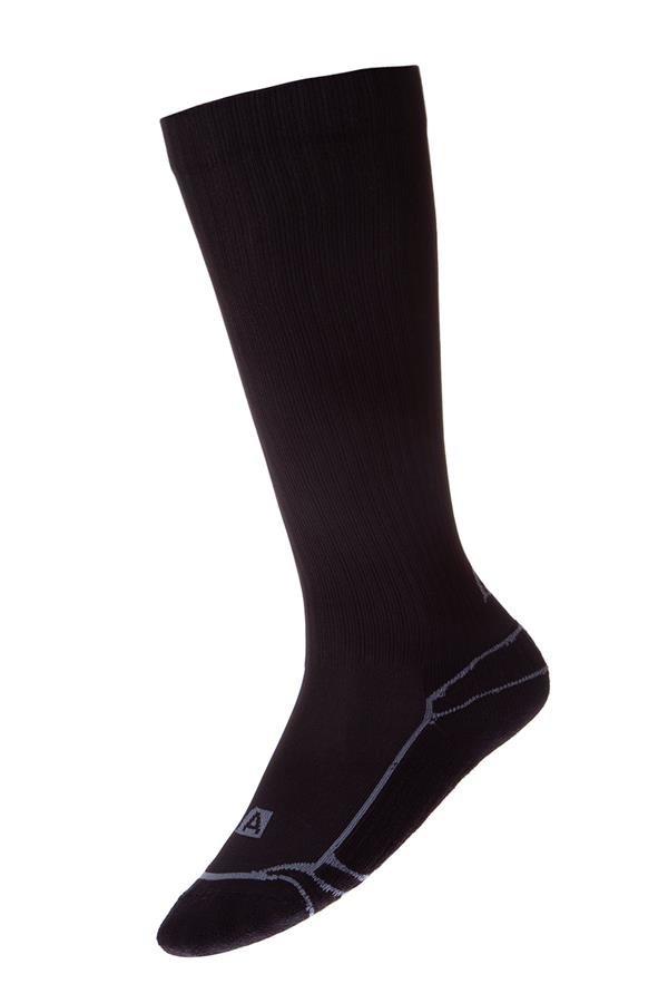 Černé vysoké ponožky Alpine Pro - velikost S