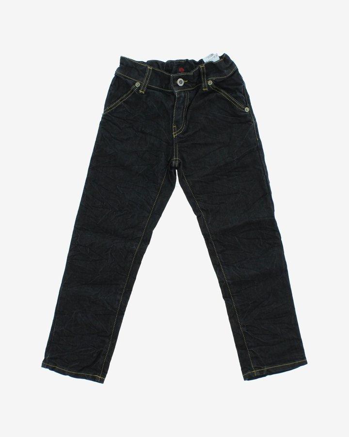 Černé chlapecké džíny John Richmond - velikost 116