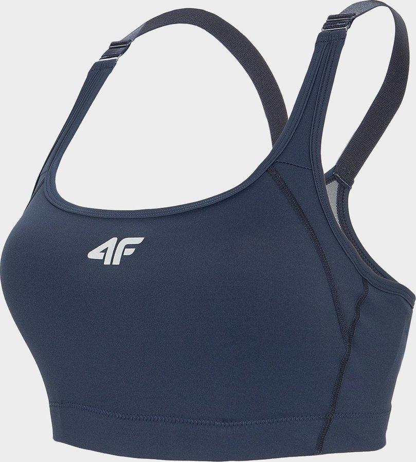 Modrá sportovní dámská podprsenka 4F
