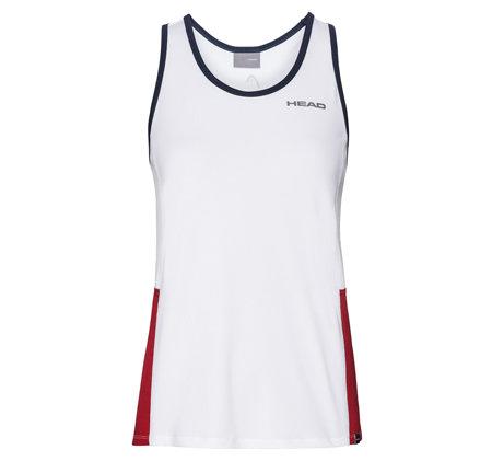 Bílé dámské tenisové tílko Head