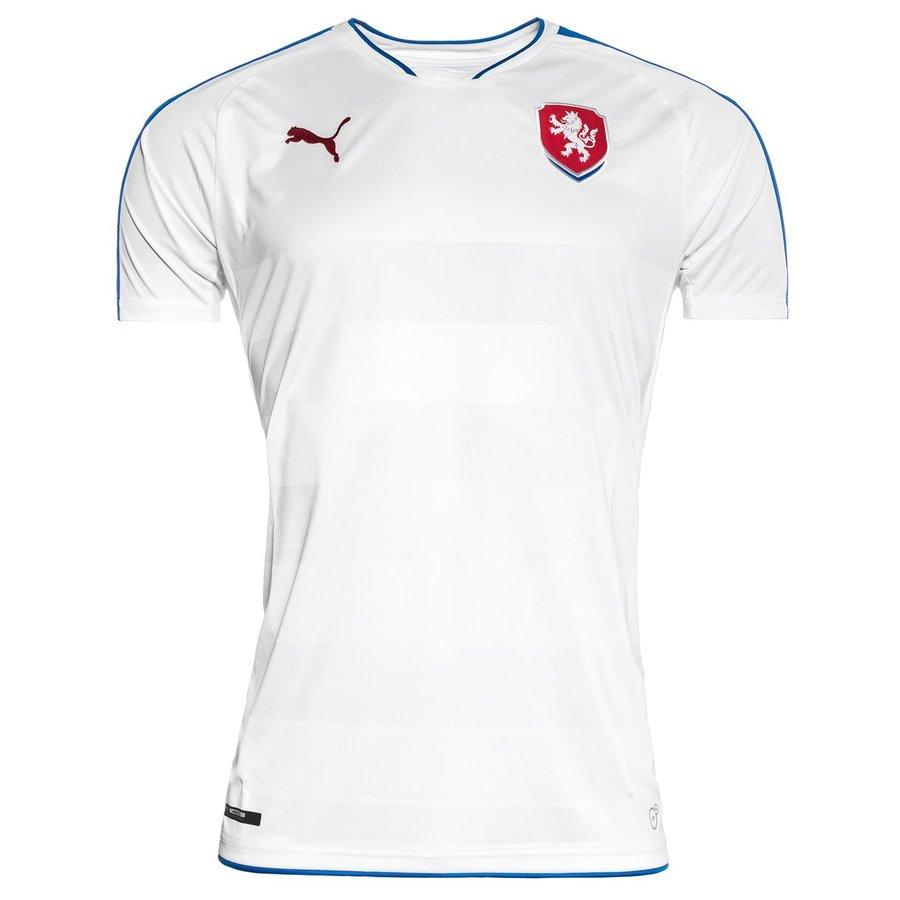 """Bílý fotbalový dres """"Česká reprezentace"""", Puma - velikost XXL"""