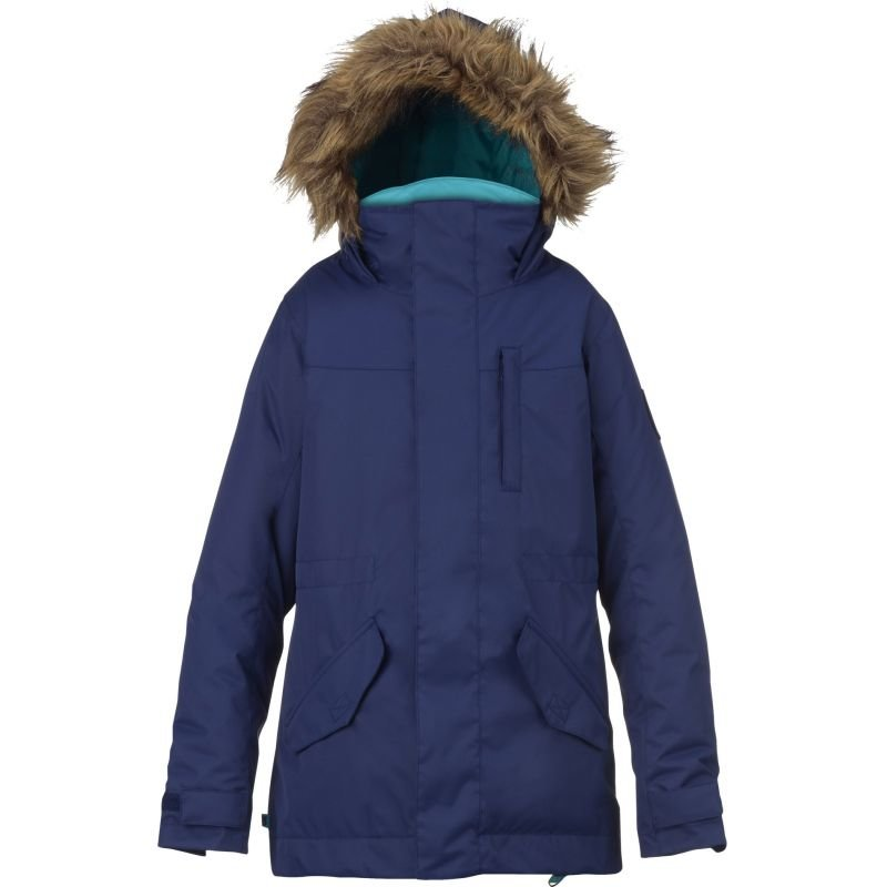 Modrá dětská snowboardová bunda Burton - velikost XL