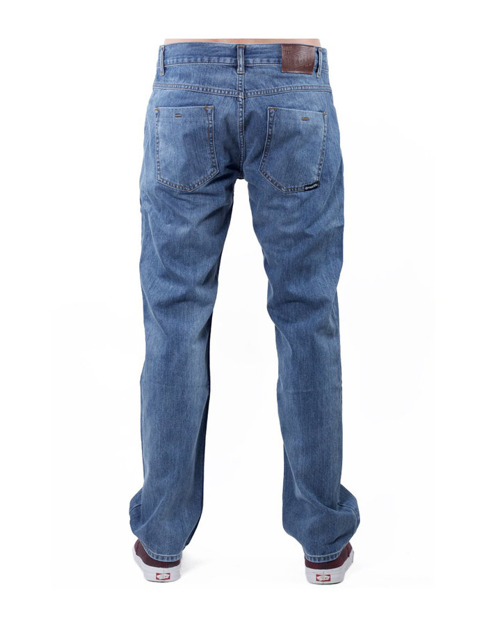 Kalhoty - MEATFLY Justyn A - Washed Out Denim Velikost: 28